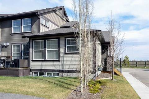 Townhouse for sale at 110 Coopers Common Southwest Unit 1201 Airdrie Alberta - MLS: C4294736