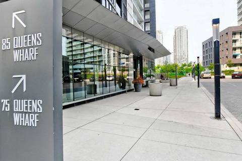 Condo for sale at 85 Queens Wharf Rd Unit 1201 Toronto Ontario - MLS: C4705509