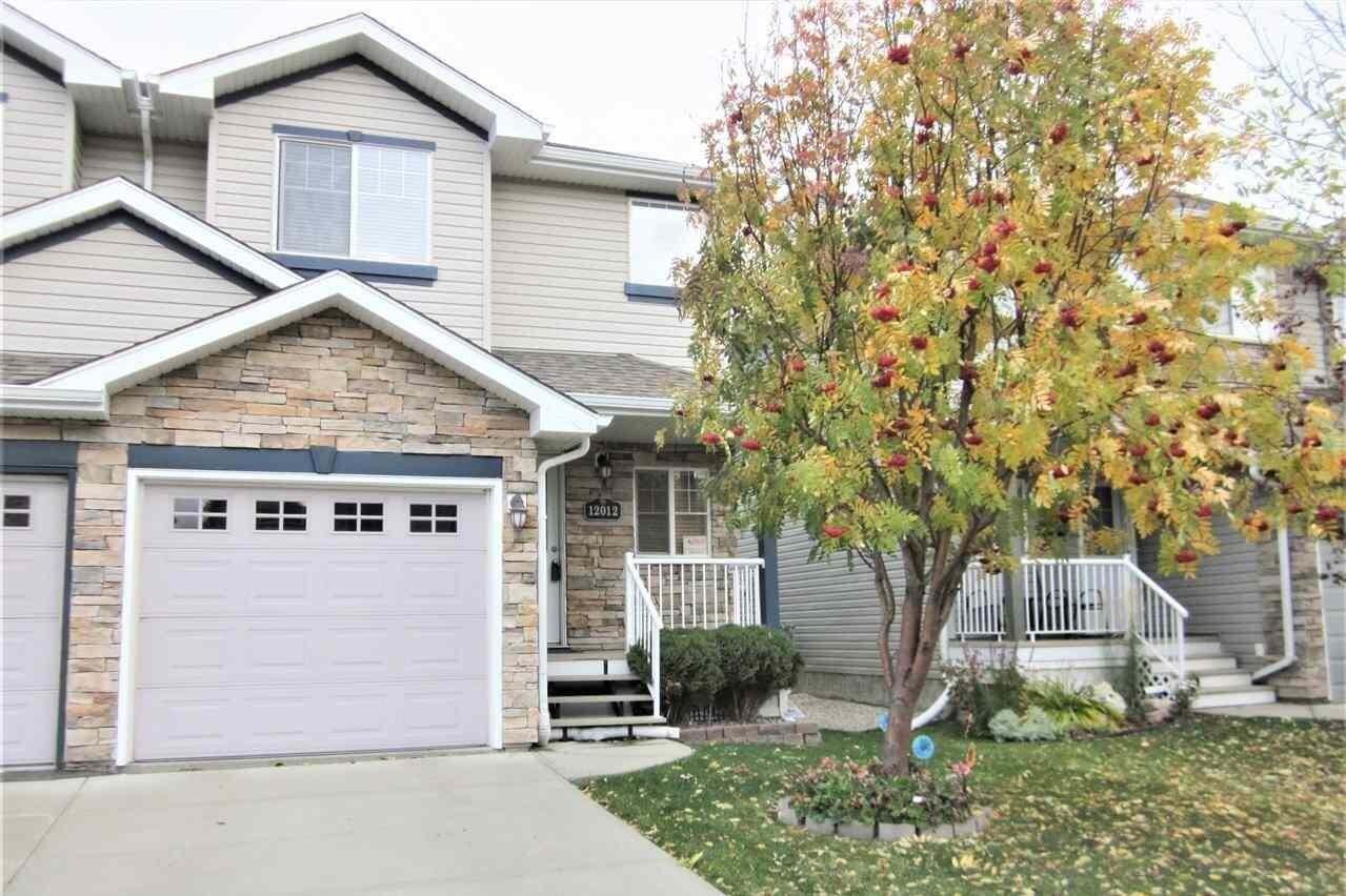 Townhouse for sale at 12012 18 Av SW Edmonton Alberta - MLS: E4193666