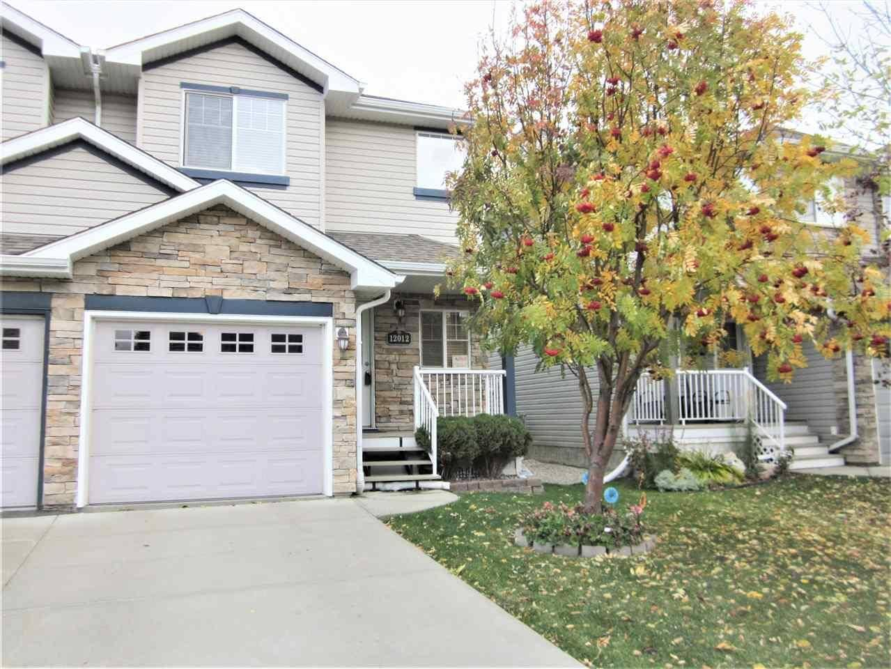 Townhouse for sale at 12012 18 Ave Sw Edmonton Alberta - MLS: E4176660