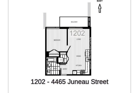 Condo for sale at 4465 Juneau St Unit 1202 Burnaby British Columbia - MLS: R2470011