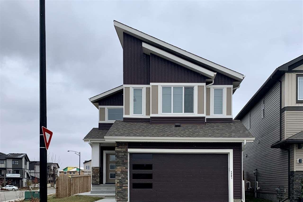 House for sale at 1203 164 St SW Edmonton Alberta - MLS: E4220094