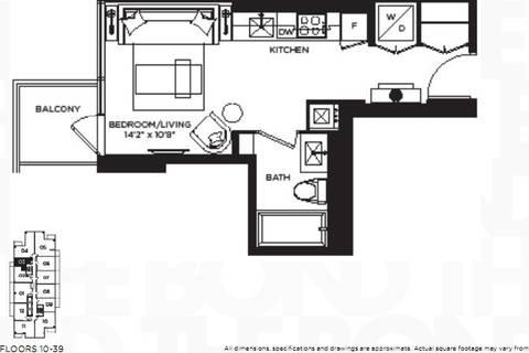Apartment for rent at 290 Adelaide St Unit 1203 Toronto Ontario - MLS: C4544407