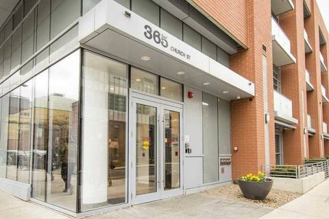 Apartment for rent at 365 Church St Unit 1204 Toronto Ontario - MLS: C4520496