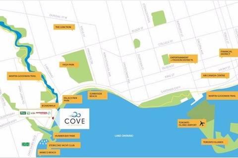 Apartment for rent at 39 Annie Craig Dr Unit 1204 Toronto Ontario - MLS: W4631309