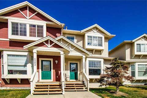 Townhouse for sale at 703 Luxstone Sq Southwest Unit 1204 Airdrie Alberta - MLS: C4236979