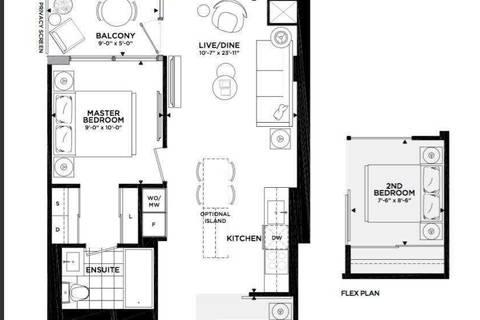 Apartment for rent at 27 Bathurst St Unit 1206 Toronto Ontario - MLS: C4575505