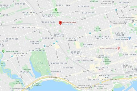 Apartment for rent at 1420 Dupont St Unit 1207 Toronto Ontario - MLS: W5077983