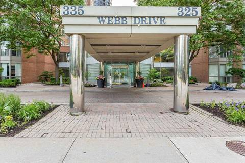 Apartment for rent at 335 Webb Dr Unit 1207 Mississauga Ontario - MLS: W4671104