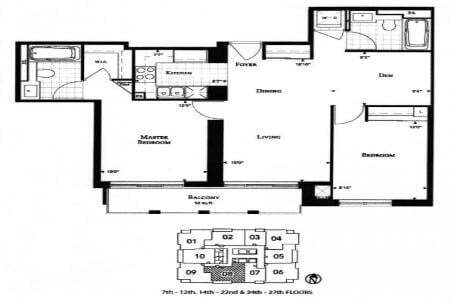 Apartment for rent at 35 Balmuto St Unit 1208 Toronto Ontario - MLS: C4854598