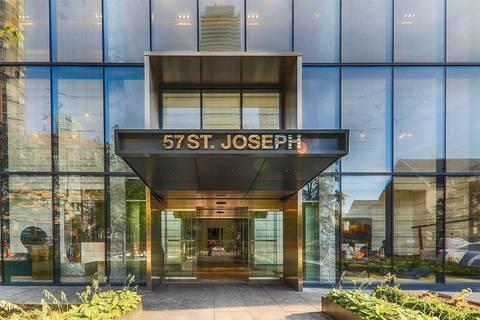 Condo for sale at 57 St Joseph St Unit 1208 Toronto Ontario - MLS: C4604715