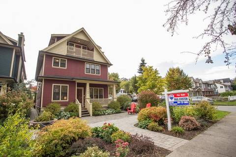 Townhouse for sale at 1208 16th Ave E Vancouver British Columbia - MLS: R2411584