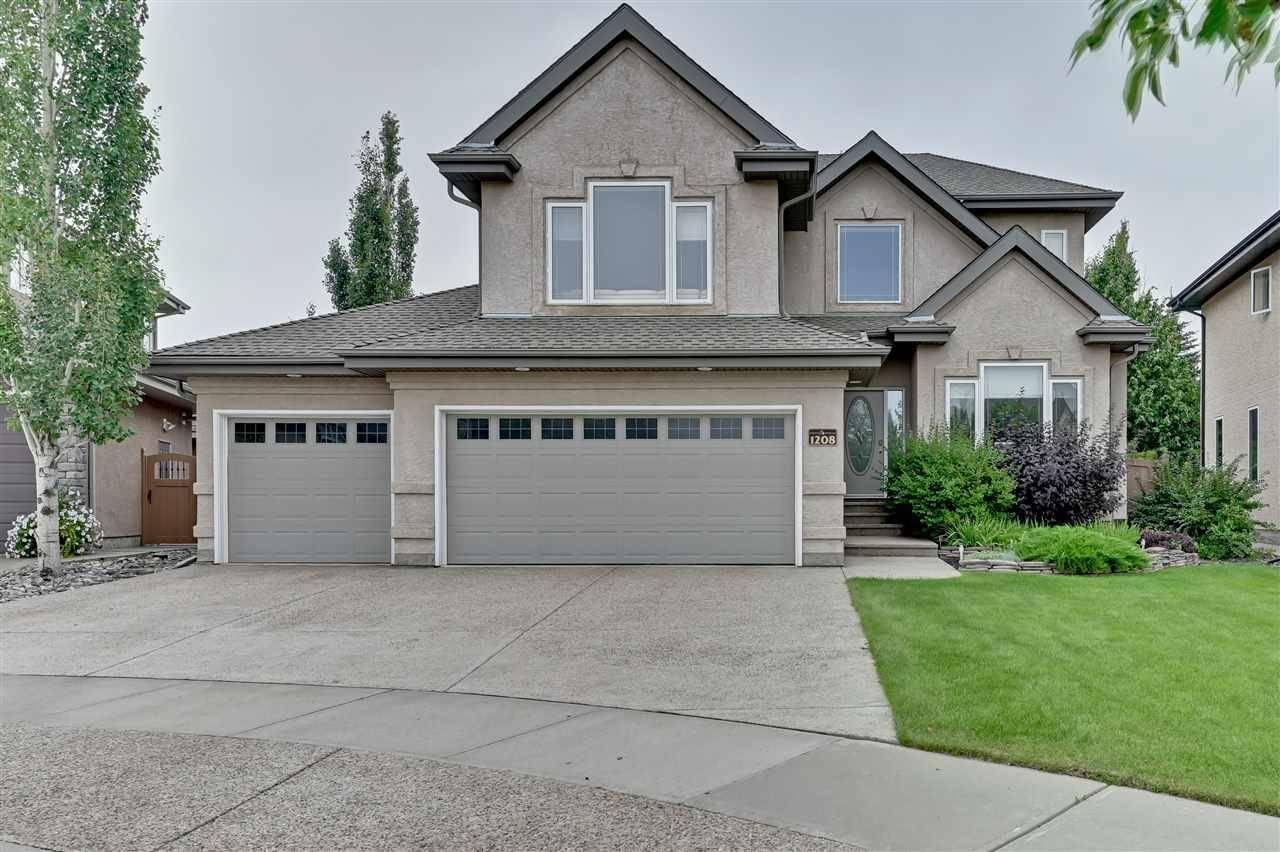 House for sale at 1208 Hollands Cs Nw Edmonton Alberta - MLS: E4169793