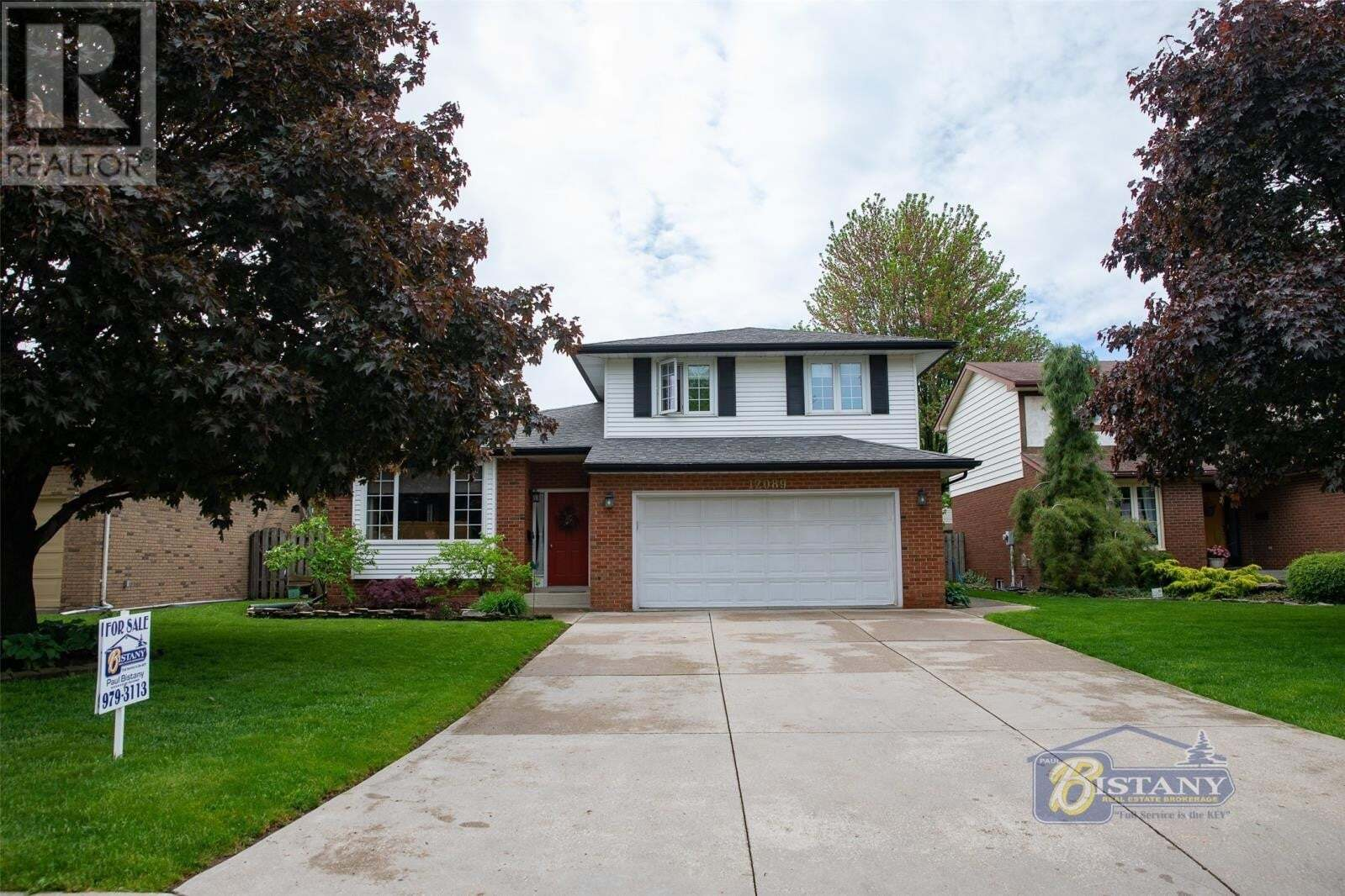 House for sale at 12089 Appletree Cres Tecumseh Ontario - MLS: 20005997