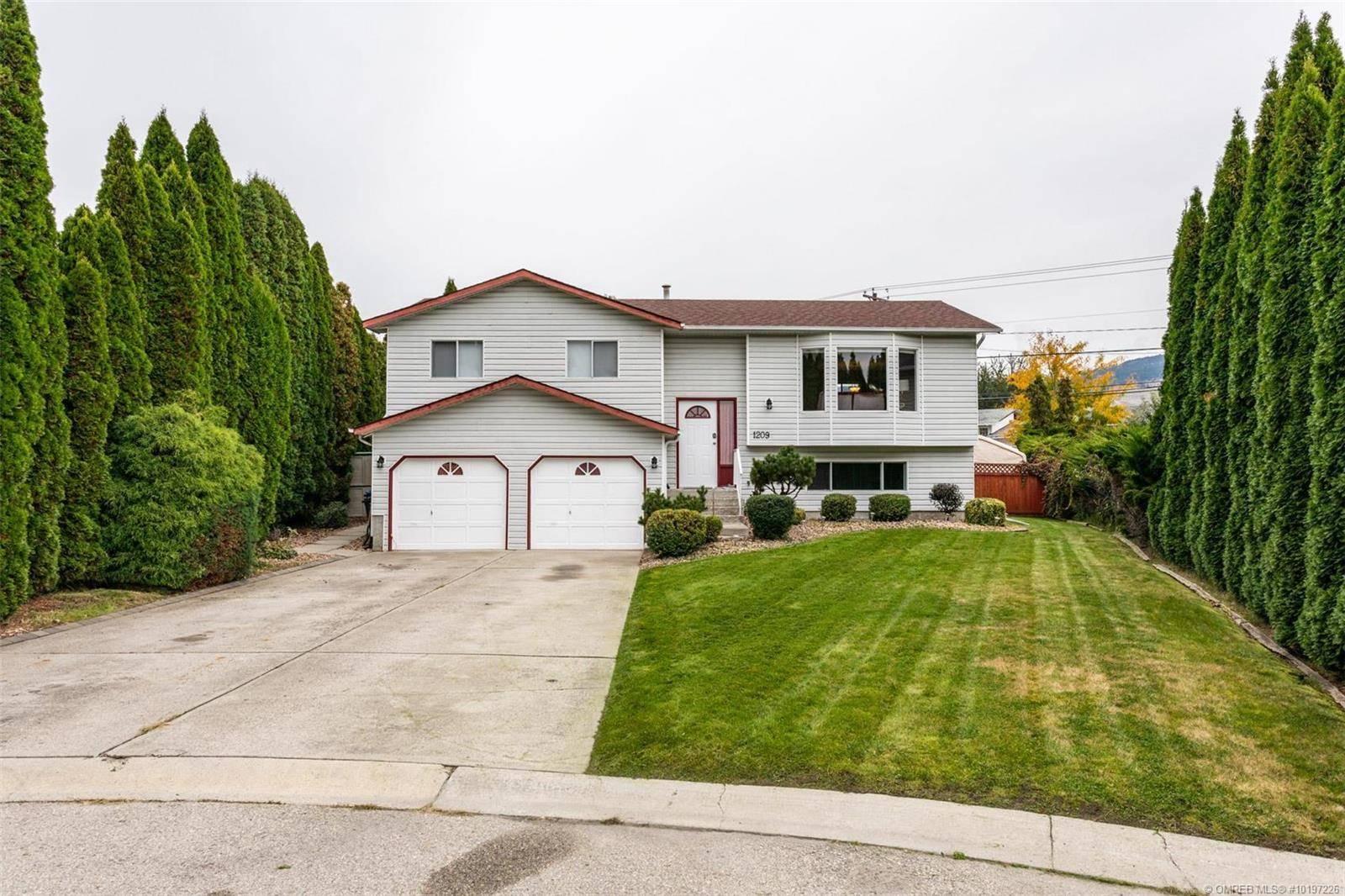 House for sale at 1209 Sanborn Ct Kelowna British Columbia - MLS: 10197226