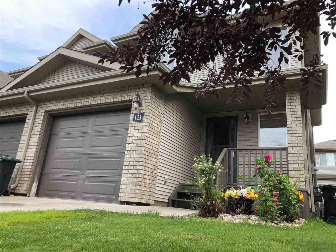 Townhouse for sale at 155 Crocus Cres Unit 121 Sherwood Park Alberta - MLS: E4168073