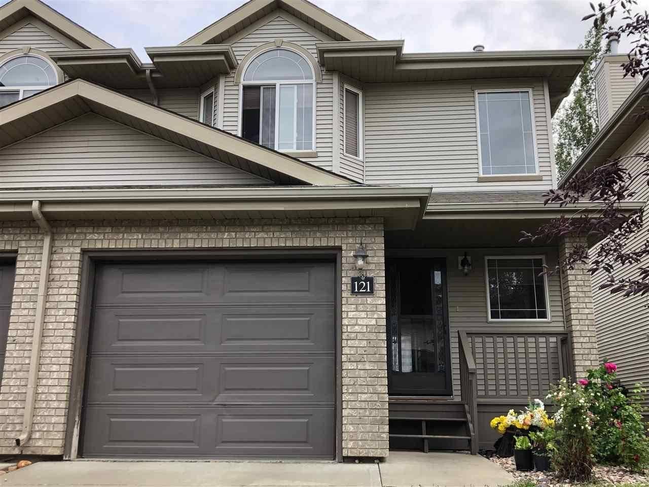 Townhouse for sale at 155 Crocus Cres Unit 121 Sherwood Park Alberta - MLS: E4182021
