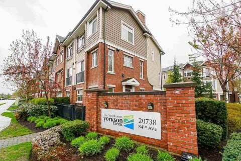 Townhouse for sale at 20738 84 Ave Unit 121 Langley British Columbia - MLS: R2511342