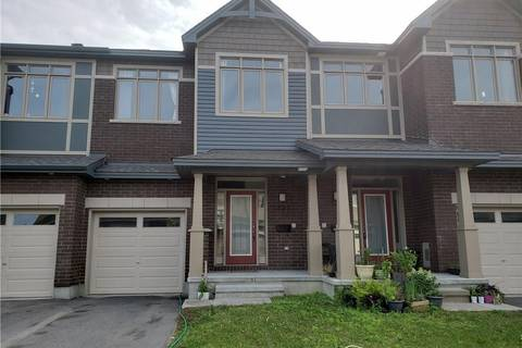 Townhouse for sale at 121 Overberg Wy Ottawa Ontario - MLS: 1160236