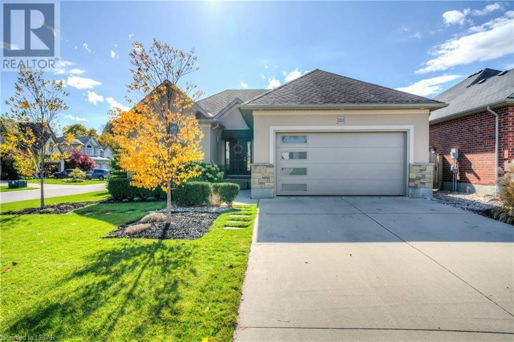 House for sale at 1211 Thamesridge Cres London Ontario - MLS: 233855