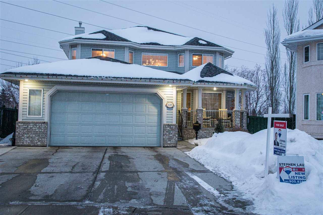 House for sale at 1215 Henwood Pl Nw Edmonton Alberta - MLS: E4185857