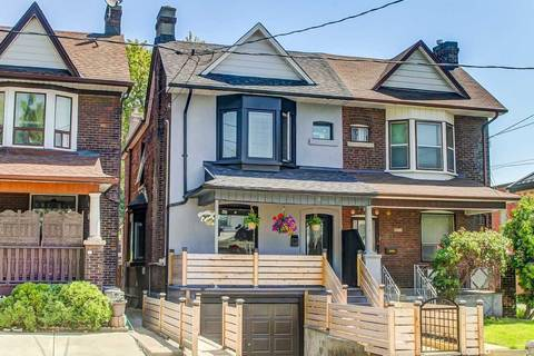 Townhouse for sale at 1217 Shaw St Toronto Ontario - MLS: C4461716