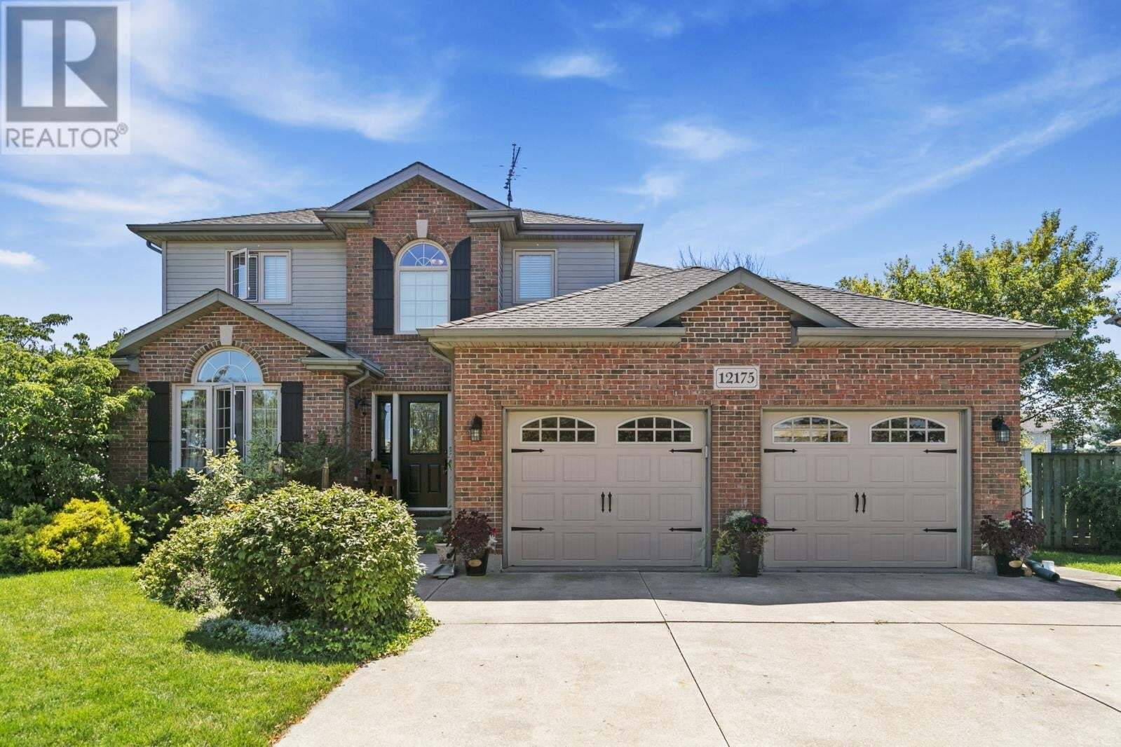 House for sale at 12175 Cranbrook Cres Tecumseh Ontario - MLS: 20009965