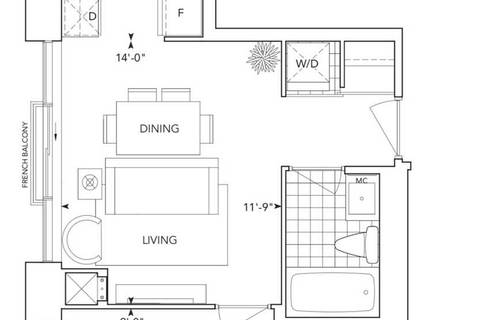 Apartment for rent at 181 Village Green Sq Unit 1219 Toronto Ontario - MLS: E4665883