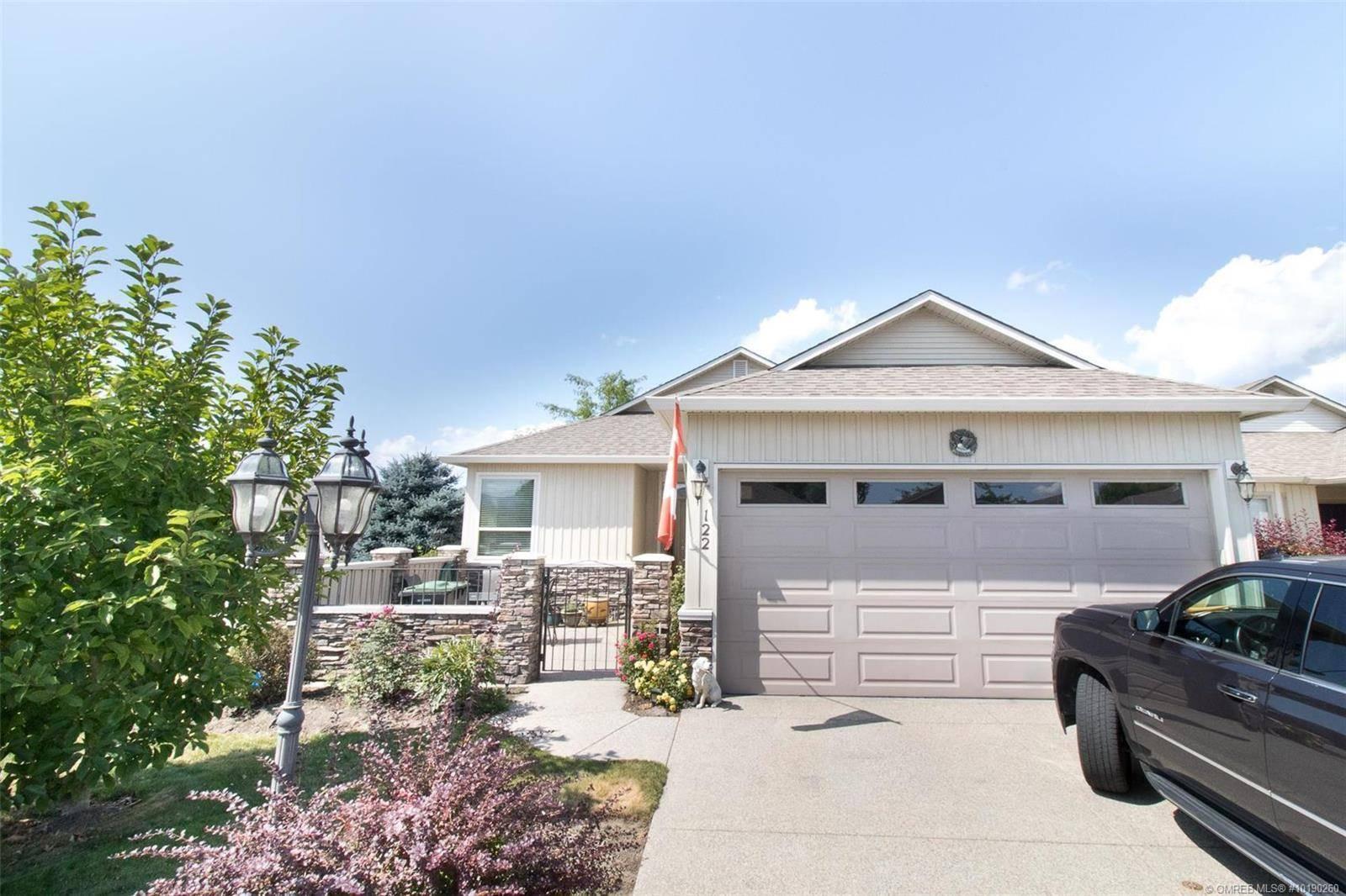 Townhouse for sale at 2365 Stillingfleet Rd Unit 122 Kelowna Bc British Columbia - MLS: 10190260