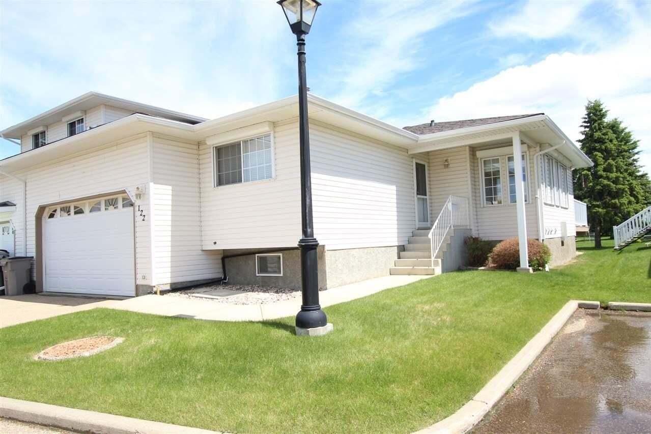 Townhouse for sale at 4610 50 Av Unit 122 Stony Plain Alberta - MLS: E4201305