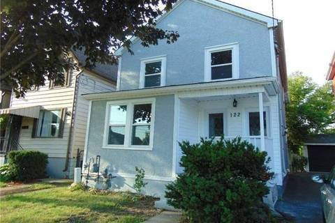 Townhouse for rent at 122 Campbell Ave Hamilton Ontario - MLS: X4410498