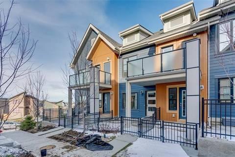 Townhouse for sale at 122 Livingston Common Northeast Calgary Alberta - MLS: C4274955