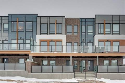 Townhouse for sale at 122 Norford Common Northwest Calgary Alberta - MLS: C4285578
