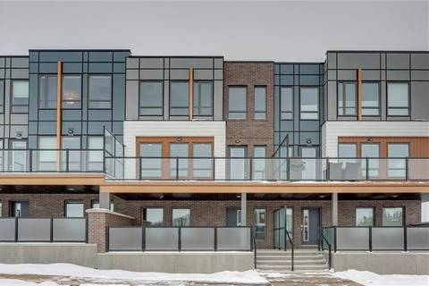 Townhouse for sale at 122 Norford Common Northwest Calgary Alberta - MLS: C4289309