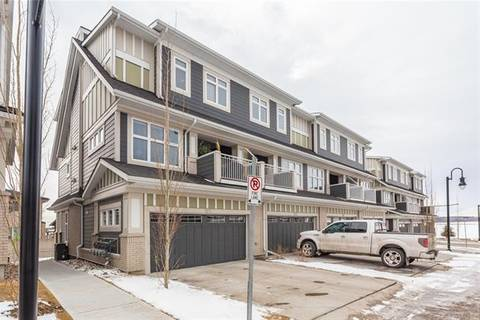 Townhouse for sale at 122 Silverado Plains Pk Southwest Calgary Alberta - MLS: C4291011