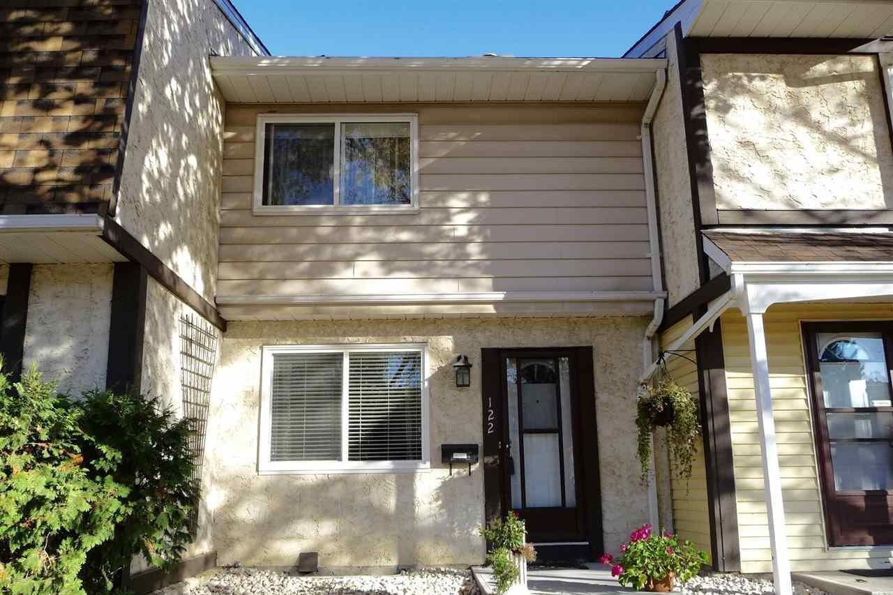 Townhouse for sale at 122 Tudor Ln NW Edmonton Alberta - MLS: E4214658
