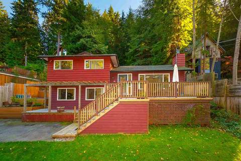 House for sale at 1221 Adams Rd Bowen Island British Columbia - MLS: R2412951