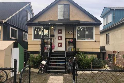House for sale at 1221 33rd Ave E Vancouver British Columbia - MLS: R2453645