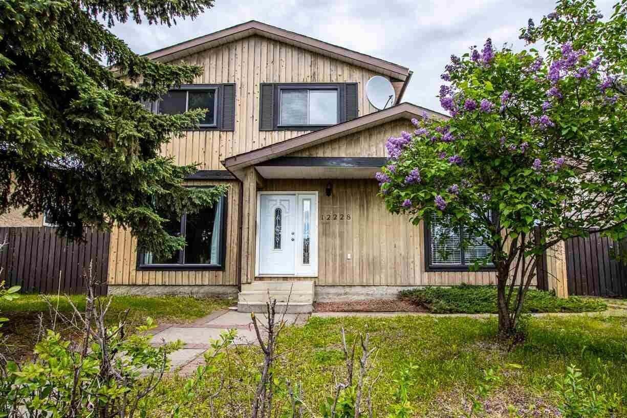 House for sale at 12228 142 Av NW Edmonton Alberta - MLS: E4201333