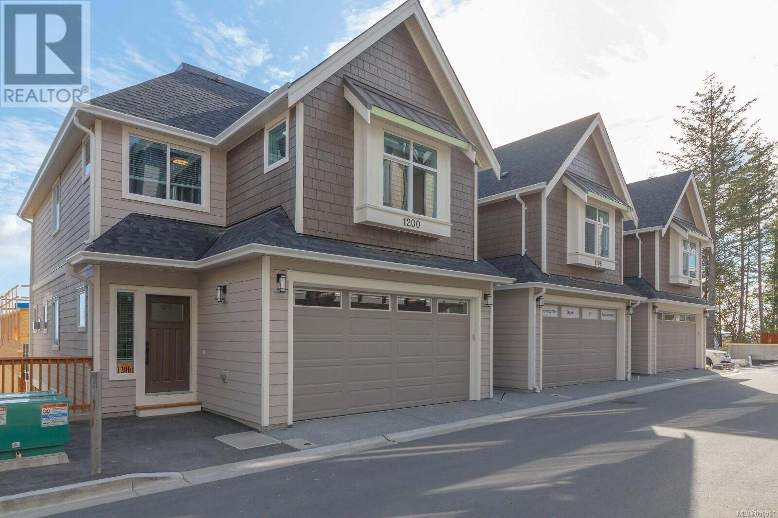 Townhouse for sale at 1224 Moonstone Lp Langford British Columbia - MLS: 850501