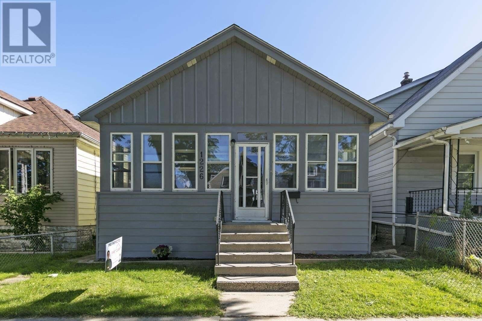 House for sale at 1226 Albert Rd Windsor Ontario - MLS: 20012414