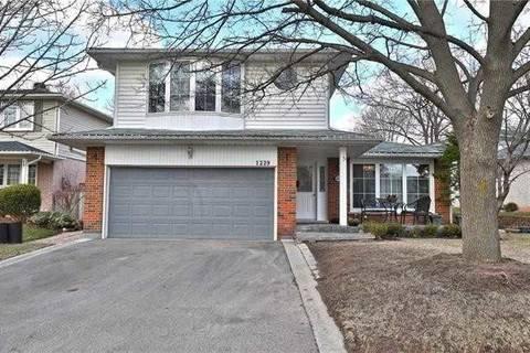 House for sale at 1229 Falgarwood Dr Oakville Ontario - MLS: W4461528