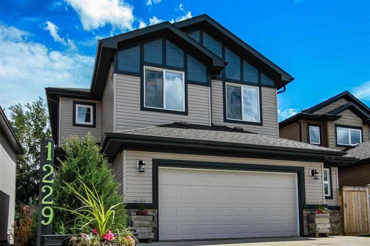 House for sale at 1229 Westerra Cr Stony Plain Alberta - MLS: E4206605