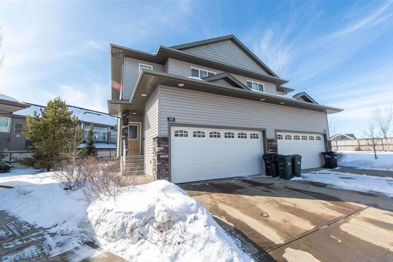 Townhouse for sale at 41 Summerwood Bv Unit 123 Sherwood Park Alberta - MLS: E4204618