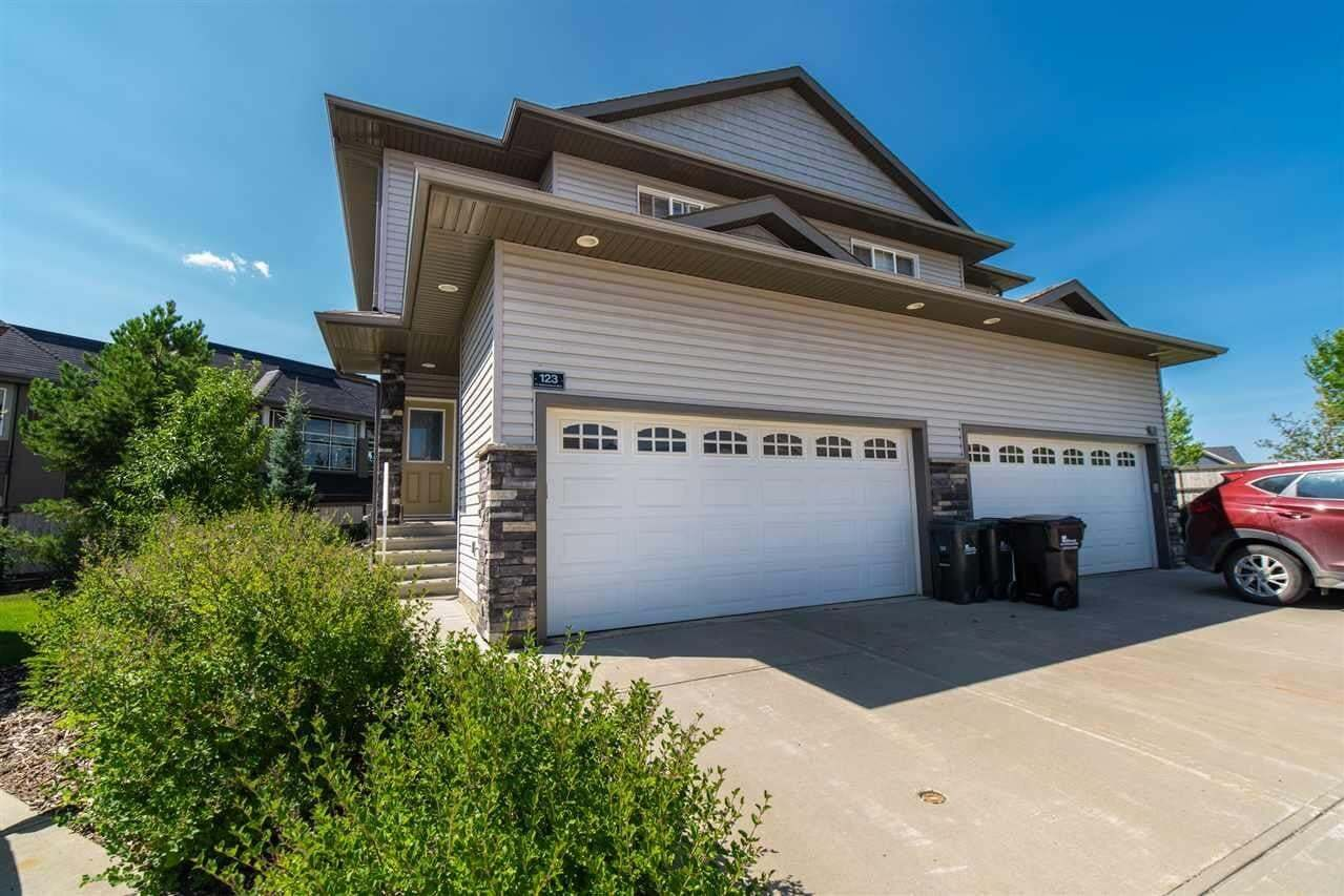 Townhouse for sale at 41 Summerwood Bv Unit 123 Sherwood Park Alberta - MLS: E4209877