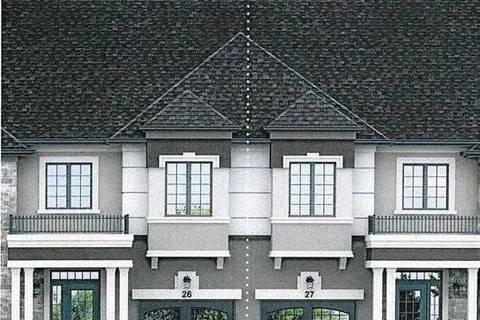 Townhouse for sale at 123 Bilanski Farm Rd Brant Ontario - MLS: X4663953