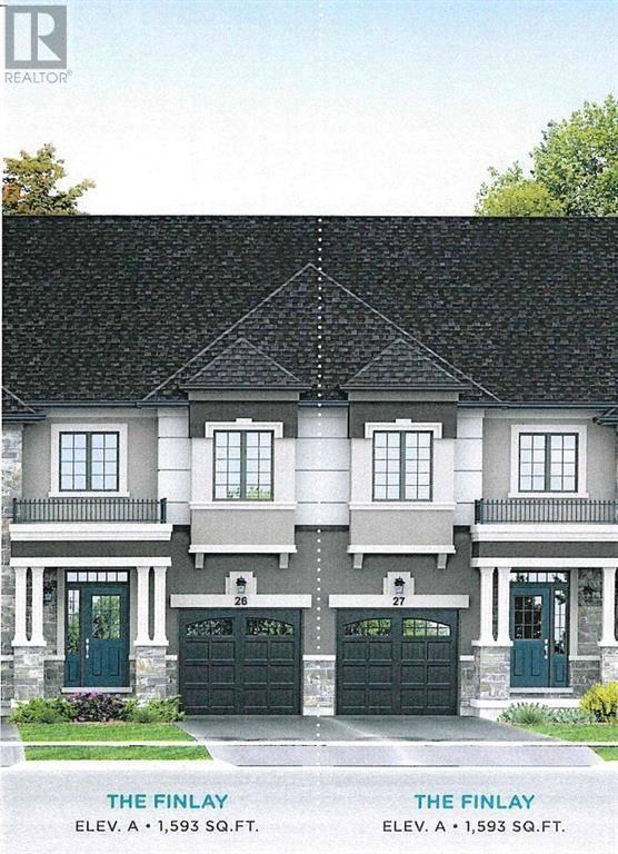 Townhouse for sale at 123 Bilanski Farm Rd Brantford Ontario - MLS: 30779163