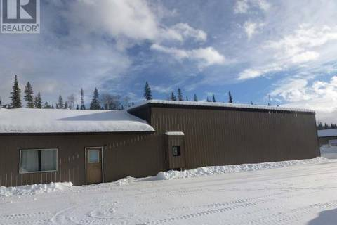 Commercial property for sale at 123 Commercial Pk Tumbler Ridge British Columbia - MLS: 169951