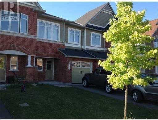 Townhouse for rent at 123 Garrity Cres Ottawa Ontario - MLS: 1172035