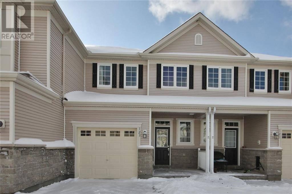 Townhouse for sale at 123 Laramie Cres Ottawa Ontario - MLS: 1175255